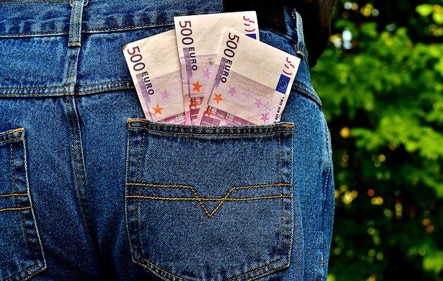 poche billets euros